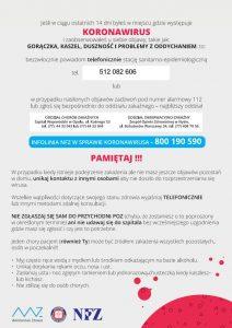 Zdjęcie nagłówkowe otwierające podstronę: Kampania edukacyjna koronawirus