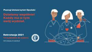 Zdjęcie nagłówkowe otwierające podstronę: Uwaga, kandydaci! 19 kwietnia startuje rejestracja na studia na Uniwersytecie Opolskim