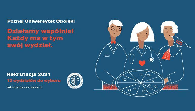 Uwaga, kandydaci! 19 kwietnia startuje rejestracja na studia na Uniwersytecie Opolskim