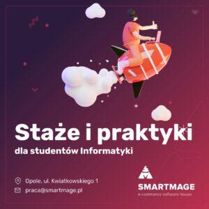 Zdjęcie nagłówkowe otwierające podstronę: Staże i praktyki dla studentów w firmie SMARTMAGE